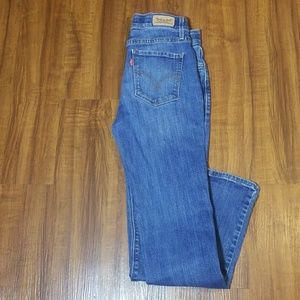 Levis 525 Straight Leg Jeans